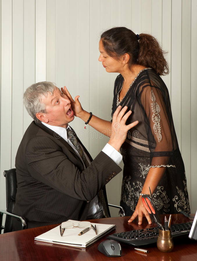 Download Secretary Sexual Harassment Stock Image - Image: 16305565