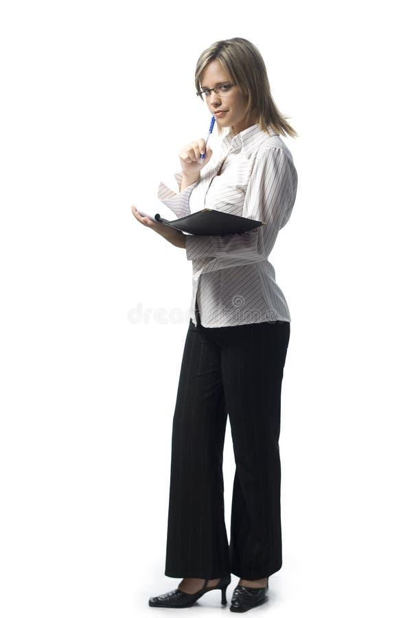 Free Secretary Taking Notes Royalty Free Stock Image - 11998496