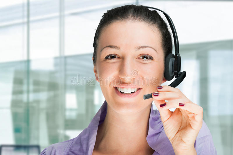 Download Secretary at work stock photo. Image of friendly, telephone - 29289000