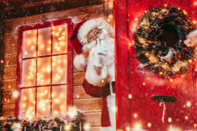 Secreto grande de la Navidad fotos de archivo