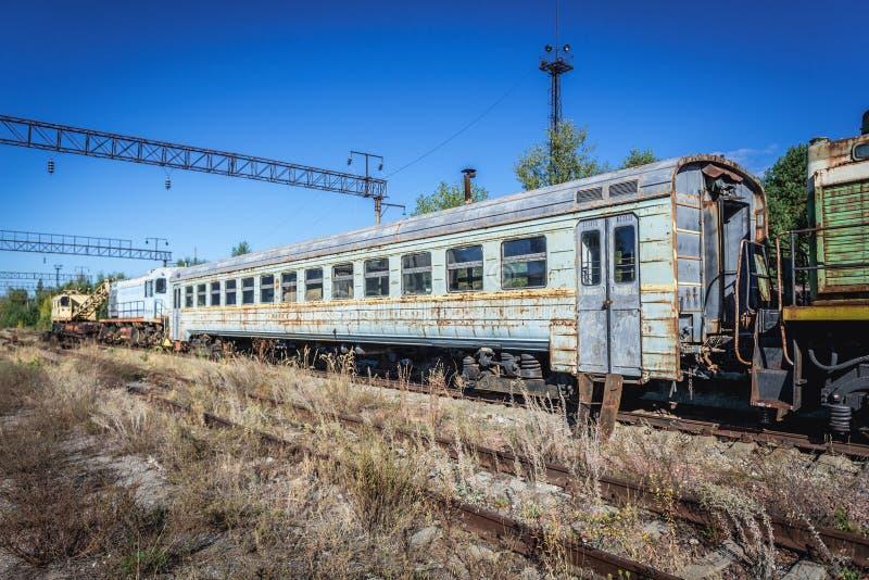 Secteur d'exclusion de Chernobyl photographie stock
