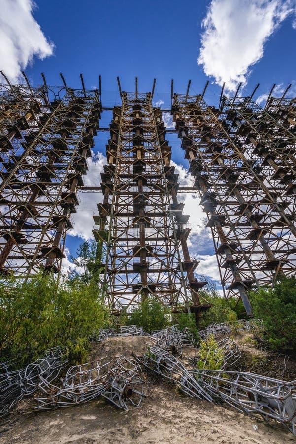 Secteur d'exclusion de Chernobyl image libre de droits