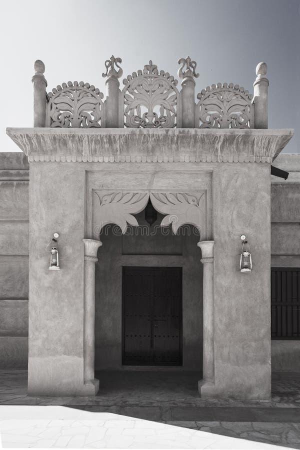 Secteur de Bastakiya à Dubaï photographie stock