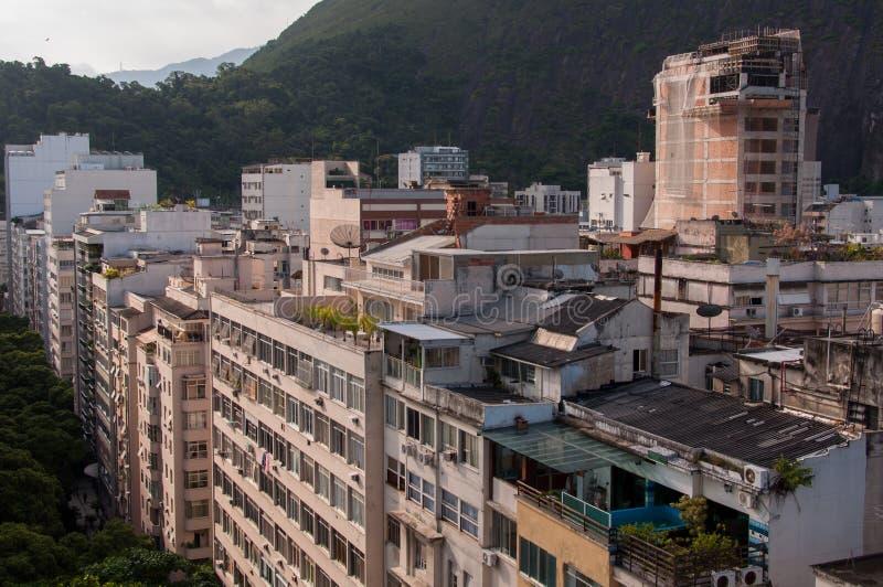 Secteur de Copacabana photos libres de droits