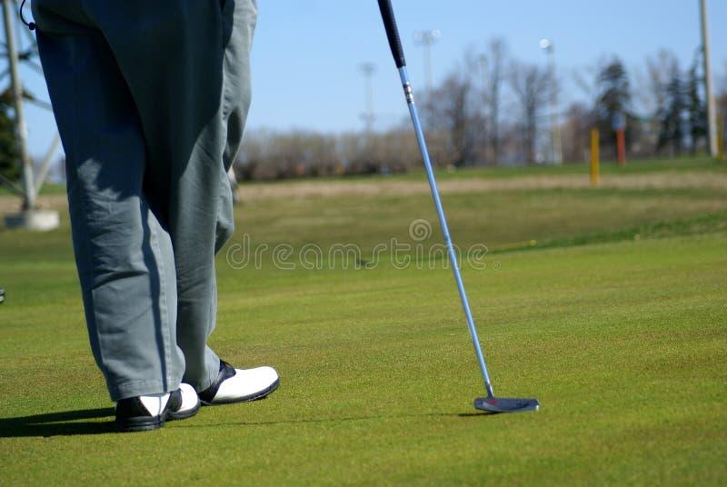 Secteur de golf de parc de récréation