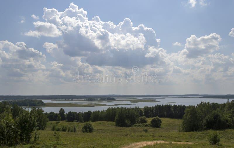 Secteur de lac photo libre de droits