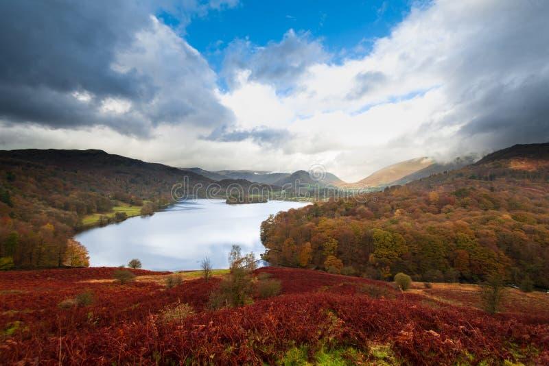 Secteur de lac Windermere, lac, Cumbria, Angleterre image stock