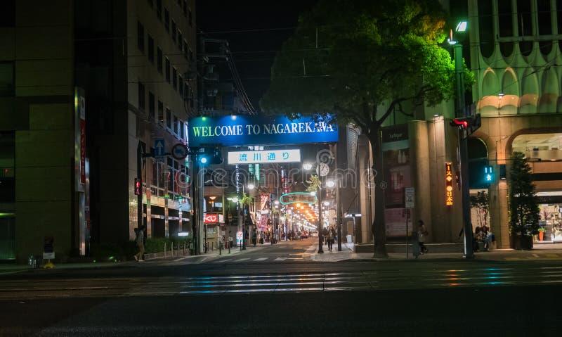 Secteur de Nagarekawa image libre de droits