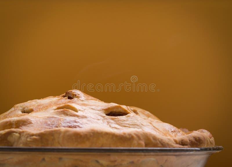 Secteur de pomme cuit au four frais images libres de droits