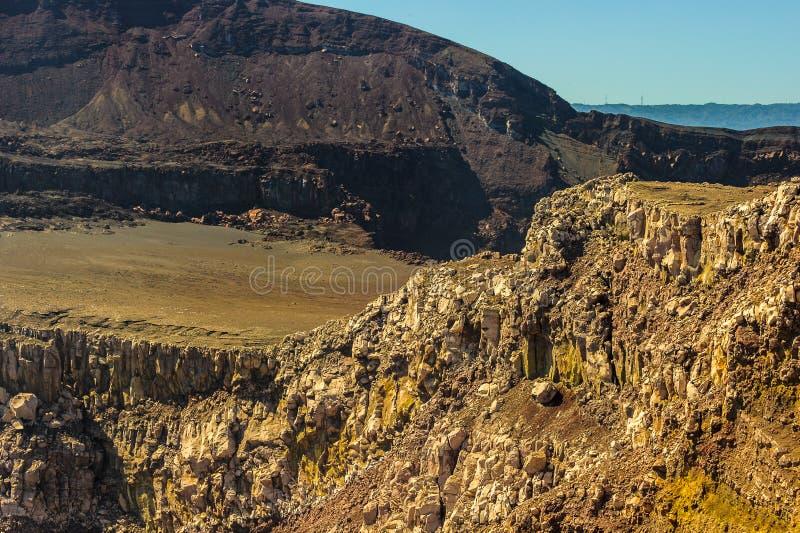 Secteur de volcan de Masaya, Nicaragua photographie stock