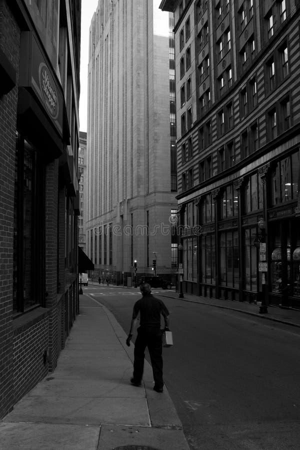 Secteur financier, Boston photographie stock
