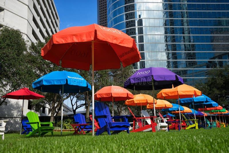 Secteur financier de Houston photographie stock libre de droits