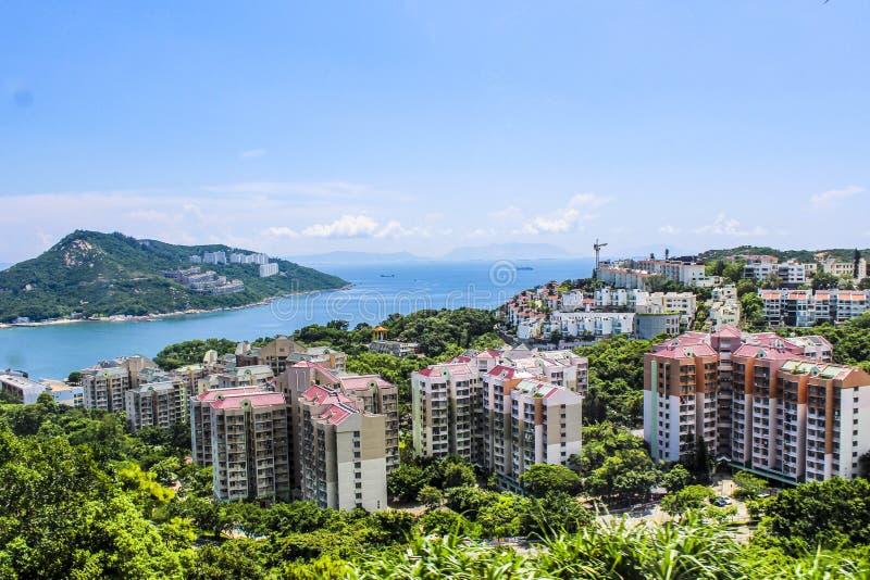 secteur résidentiel de haute catégorie de Hong Kong image libre de droits