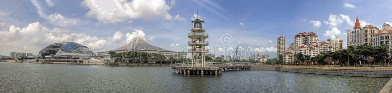 Secteur résidentiel de Tanjong Rhu à Singapour photo libre de droits
