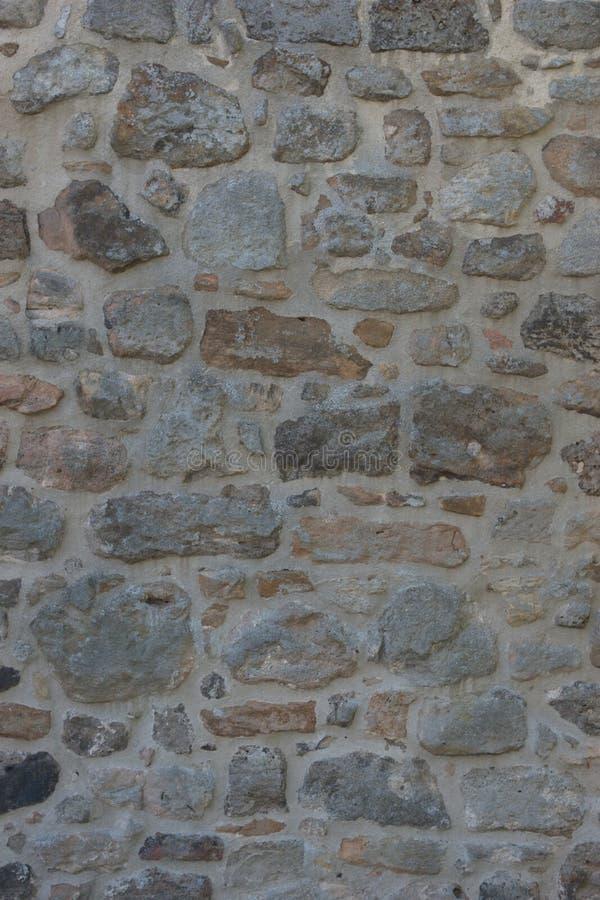 Sectie van de middeleeuwse stadsmuur van de stad van Langenzenn, in Duitsland stock fotografie