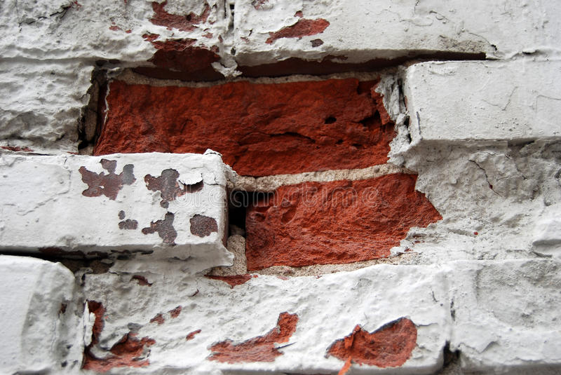 Download Section of brick wall stock image. Image of bricks, chipped - 11931751