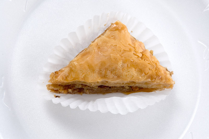 Section de baklava images libres de droits