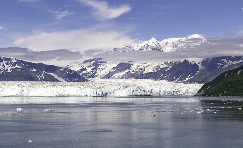 The Face of Hubbard Glacier in Alaska royalty free stock photos