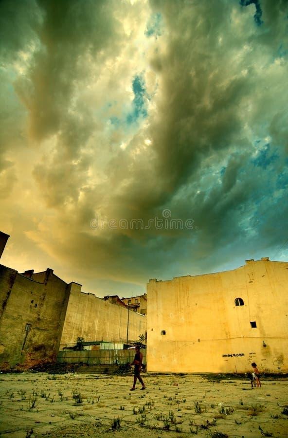 Section faible de Bucarest photos libres de droits