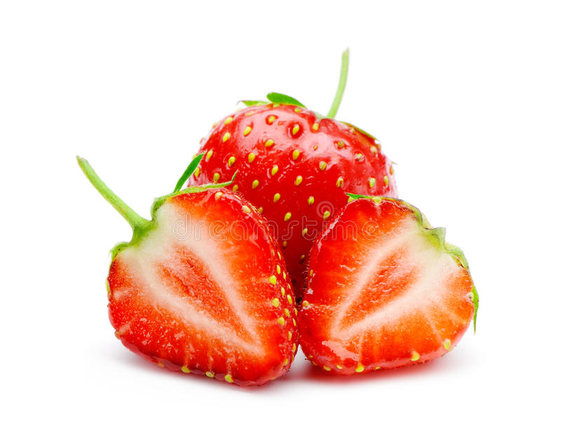 Download Section Strawberries Royalty Free Stock Photo - Image: 25172295