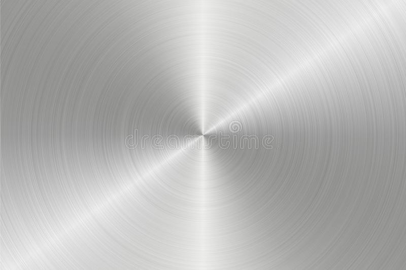 Section surface of round steel royalty free stock photography