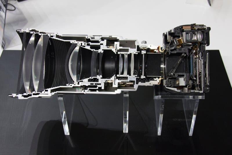 Sectionele camera royalty-vrije stock afbeelding