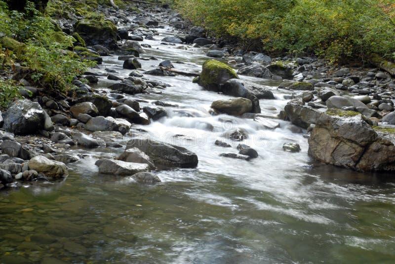 Secuencia de la cascada foto de archivo libre de regalías