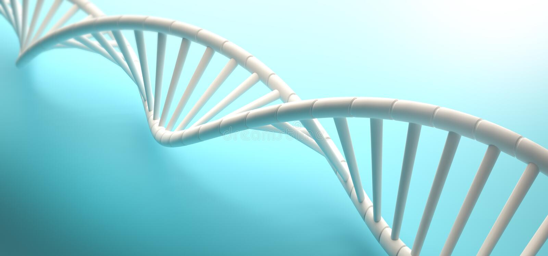Secuencia de la DNA fotos de archivo