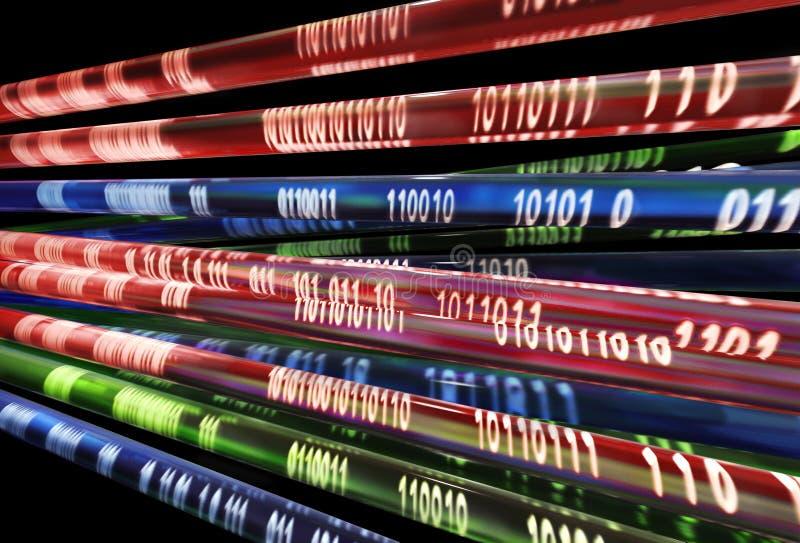 Secuencia de la información imágenes de archivo libres de regalías