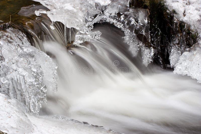 Secuencia helada del invierno imágenes de archivo libres de regalías