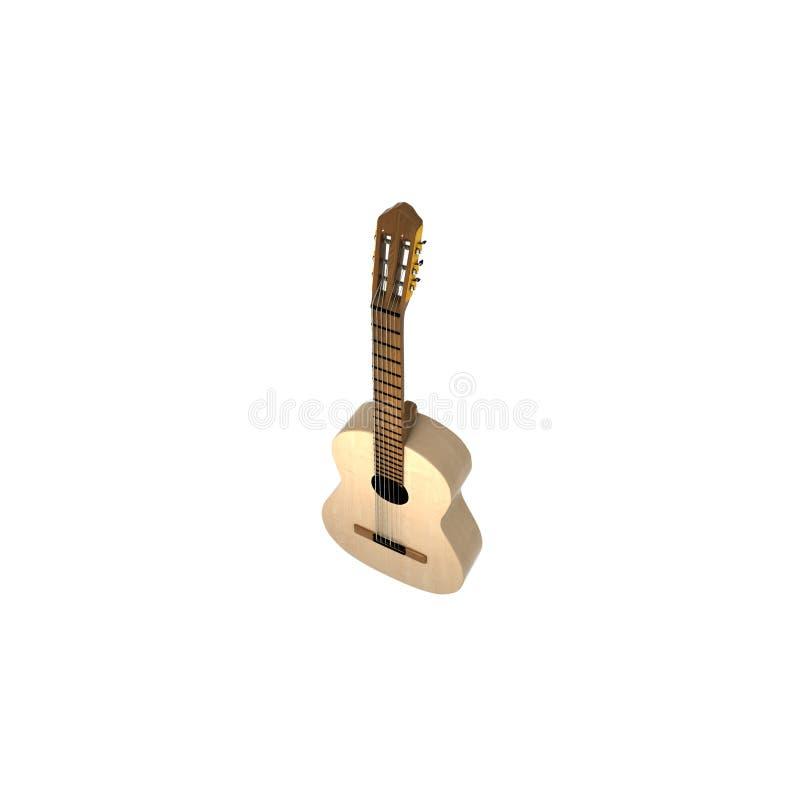 Secuencias de la guitarra seis imagen de archivo libre de regalías