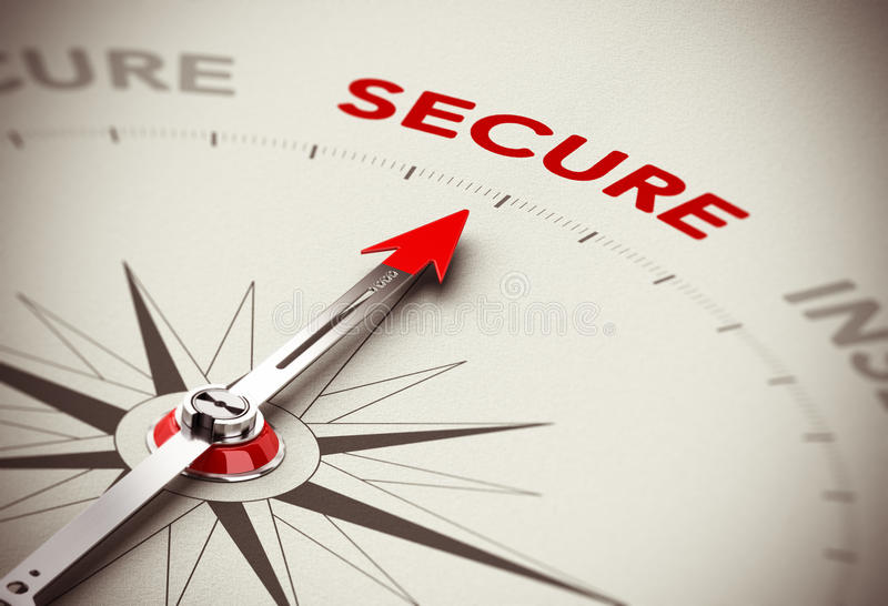 Secure Concept - Security vector illustration
