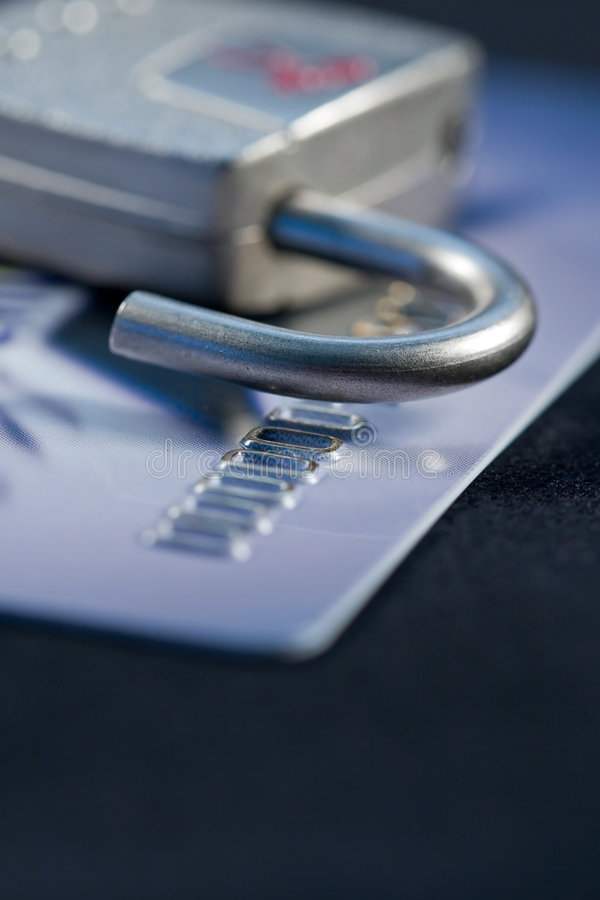 Secure Credit stock image
