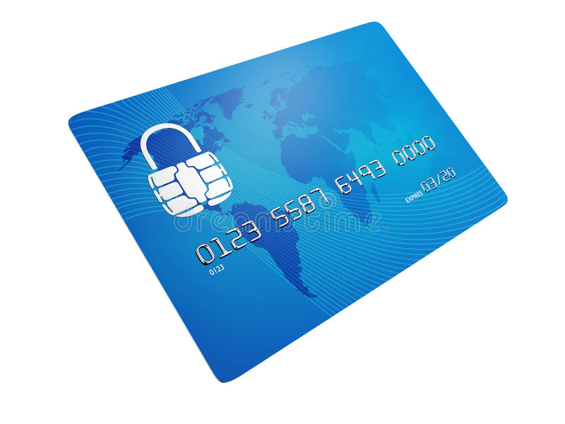 Secure credit card stock photos