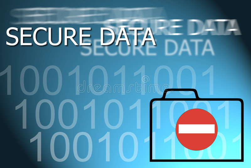 Secure Data Royalty Free Stock Photography