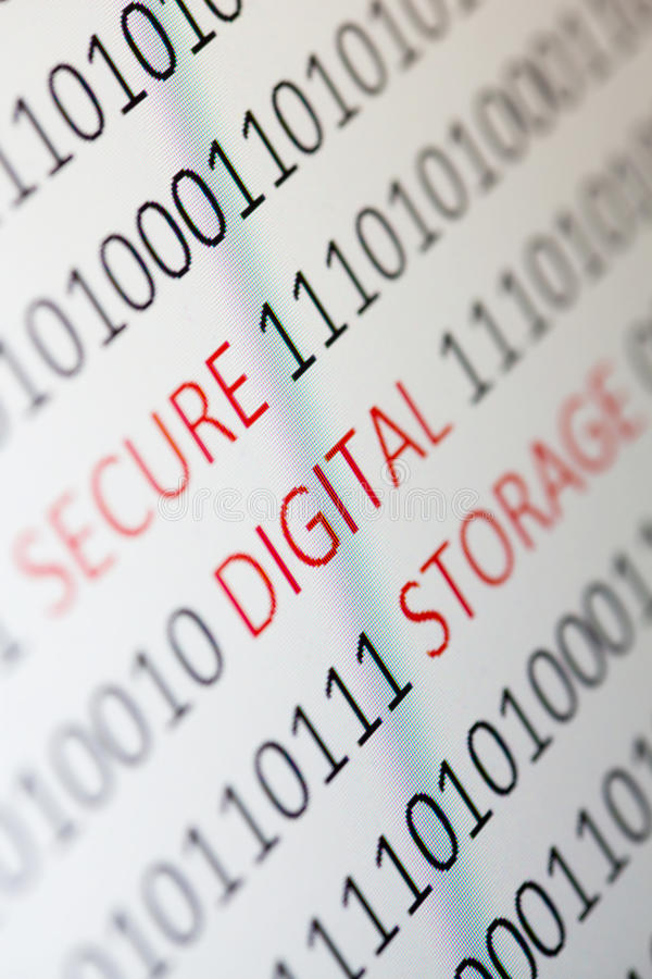 Download Secure digital storage stock image. Image of protect - 28392973