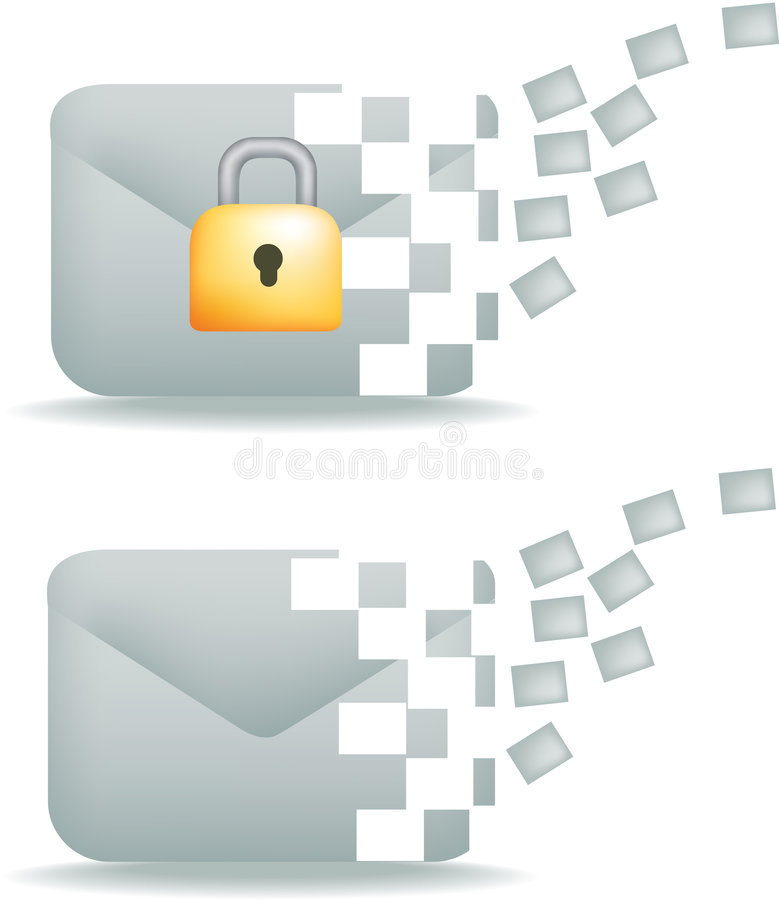 Download Secure Email And Communication Stock Vector - Image: 9173000