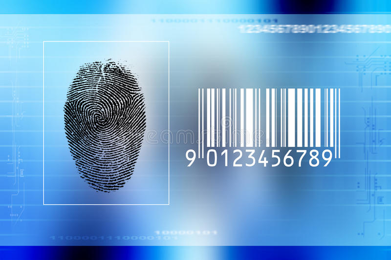 Download Secure Identity Scan Stock Photography - Image: 10574112