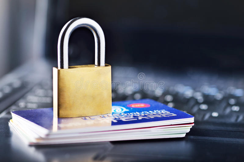 Download Secure online shopping stock image. Image of laptop, debit - 26730545
