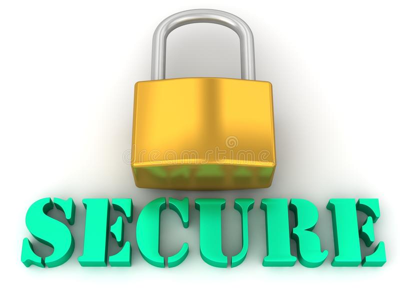 Secure and Pad lock