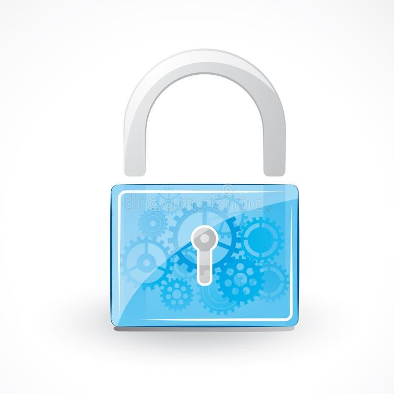 Secure Padlock Royalty Free Stock Photo