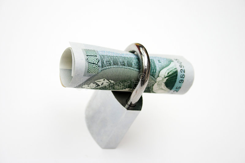 Secure pound stock photos