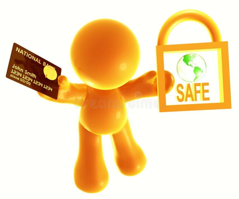 Secure Shopping Icon Symbol Stock Image