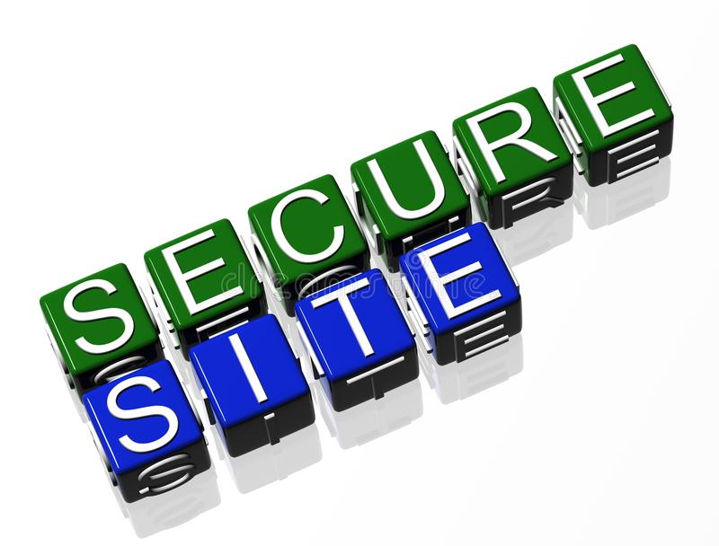 Download Secure Site http stock illustration. Image of background - 16483579