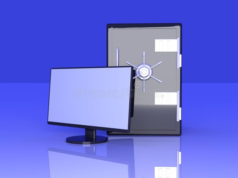 Download Secure System stock illustration. Image of encrypted - 11623329