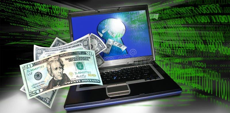 Secure transaction stock photo