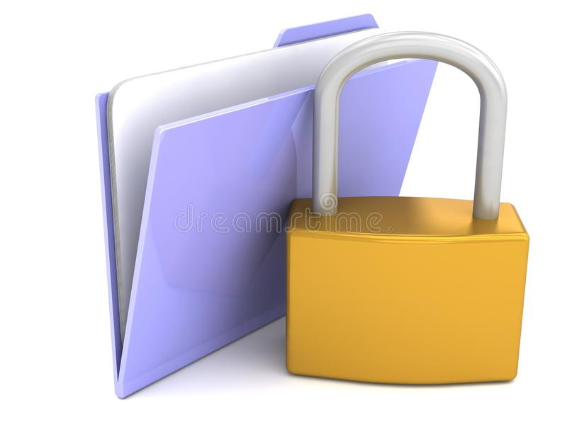 Download Secured Files Stock Image - Image: 33283021