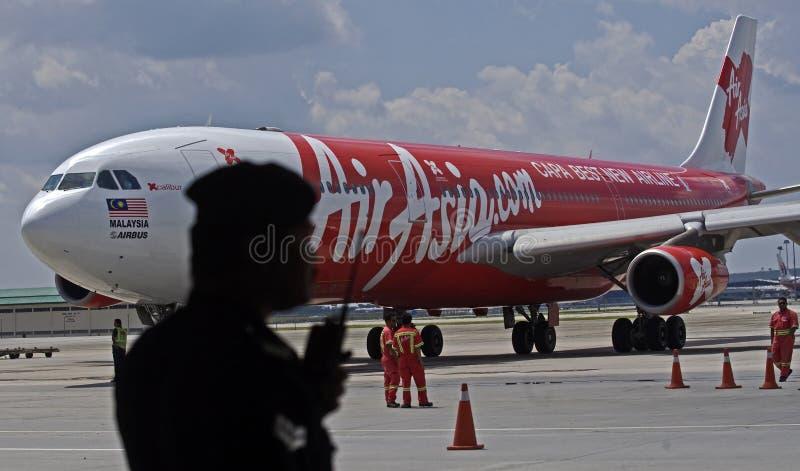 Securites de Air Asia imagem de stock royalty free