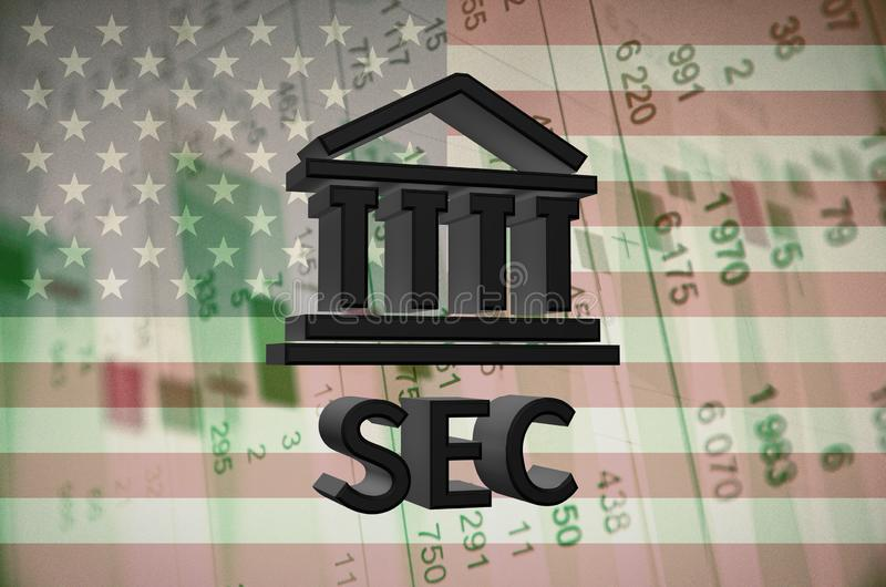 Securities and Exchange Commission stock image