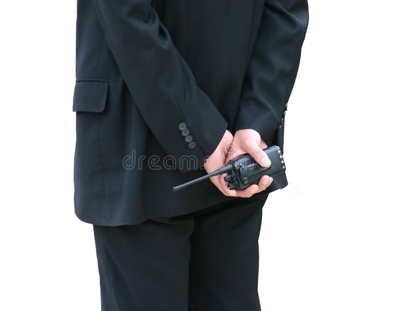 Download Security stock photo. Image of jacket, guard, button, back - 5143050